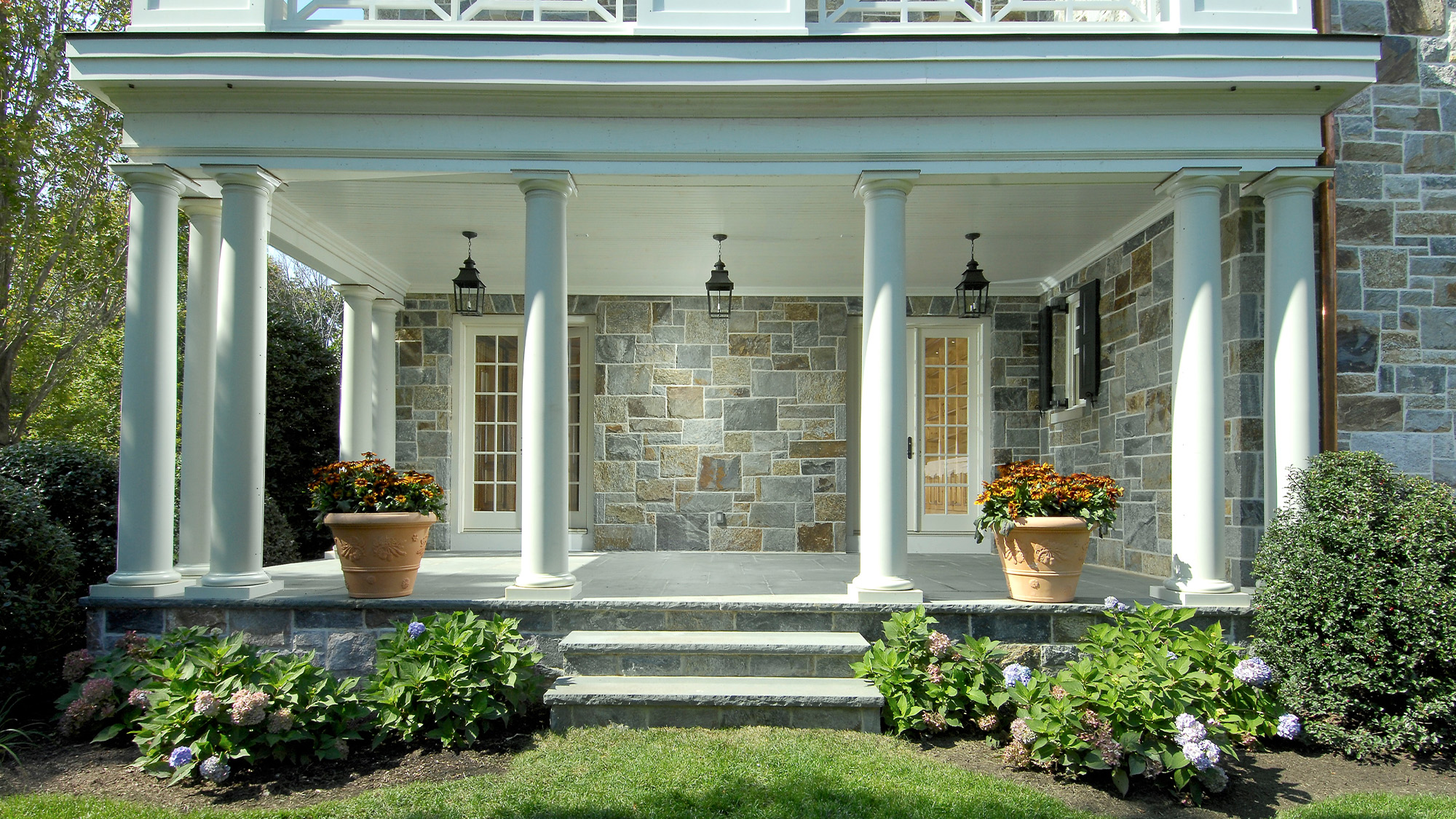 Stone Colonial House - Deer Park