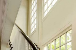 custom free floating staircase remodeling in CT